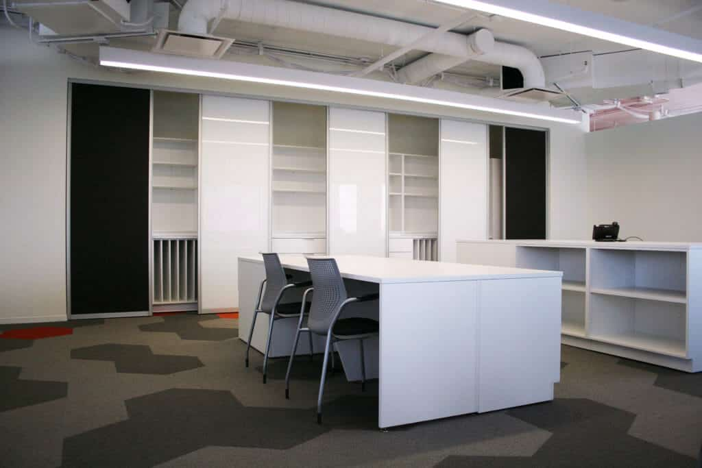 Laminate Island Workplace - Collaboration Stations