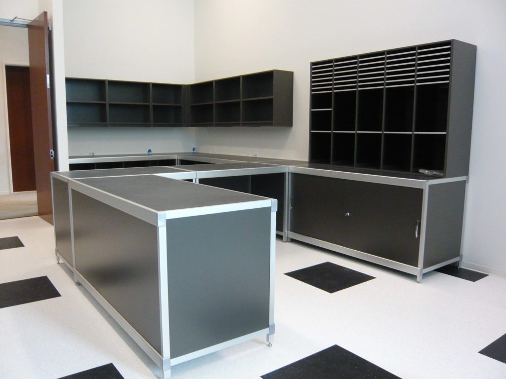 mailroom sorter units, corporate furniture, agile office