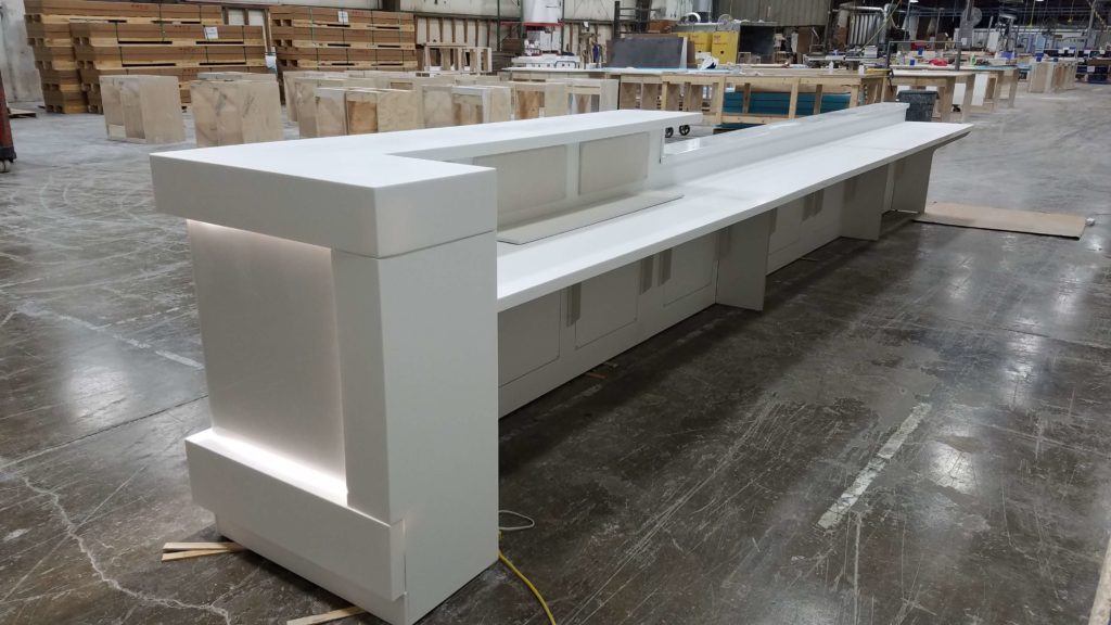 Modular Casework - Reception Desk