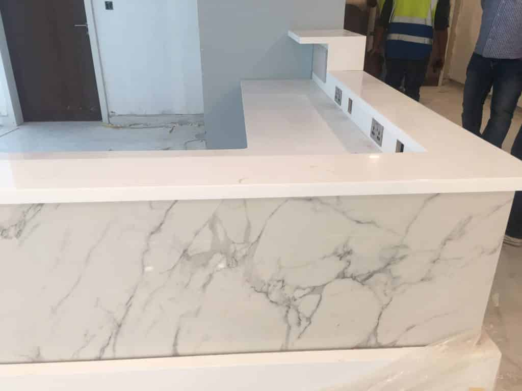 Solida Surface Reception Desk