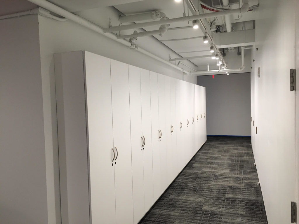 Workplace Team Storage, Wall Cabinets, Agile Office Storage