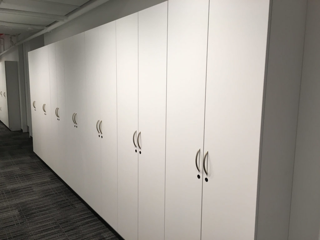 Wall Cabinets for Office Personal Storage