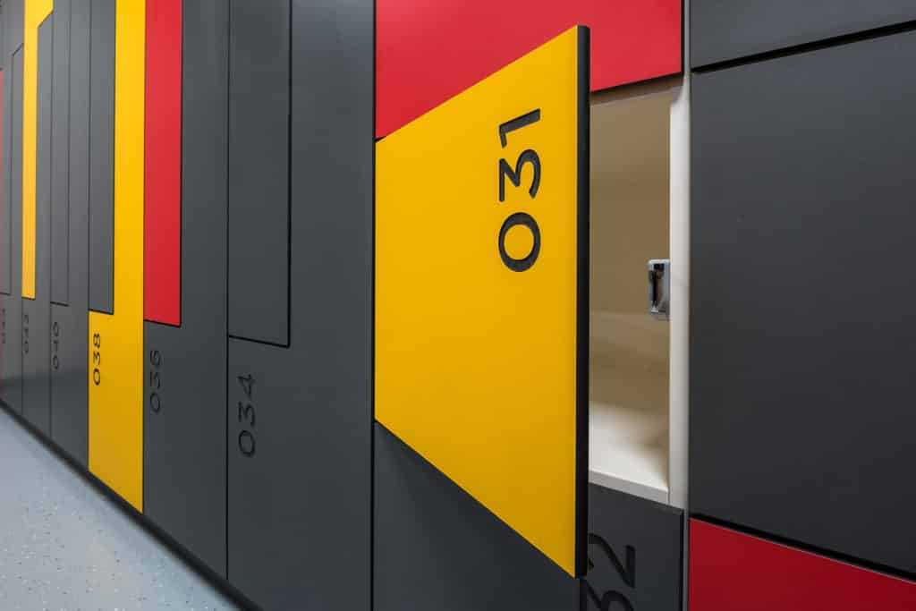 Laminate Smart Lockers